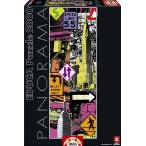 Puzzle Educa New York pop art panorama, puzzle de 2000 piezas
