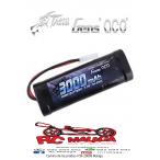 Gens ace 3000mAh 7.2V NIMH Batería con Tamiya Plug