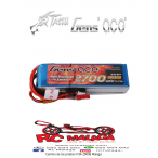 Gens ace 2700mAh 11.1V TX 3S1P Lipo Battery pack with Futaba/JST-XHR/JST-SYP