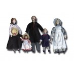 Familia 5 Personajes de Porcelona