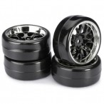 "Wheel Set Drift LP"" Comb/Profile Black 1:10"